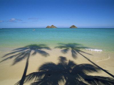 Lanikai Beach, Oahu, Hawaii, Hawaiian Islands, USA