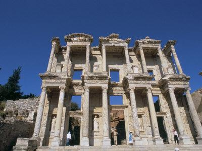 Reconstructed Library, Ephesus, Anatolia, Turkey