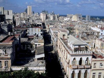 City Skyline, Havana, Cuba, West Indies, Central America