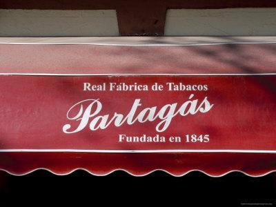 Real Fabrica De Tabacos Partagas, Cuba's Best Cigar Factory, Havana, Cuba