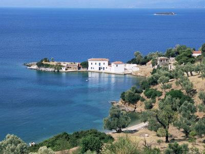 Cove at Tzasteni, Pelion, Greece