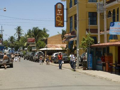 Jaco, a Surfing and Party Town, Costa Rica, Central America