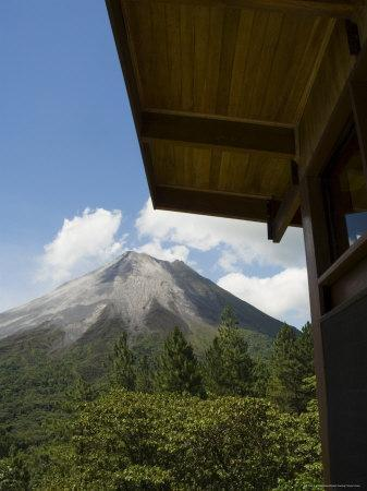 Arenal Volcano from Arenal Volcano Observatory Lodge, Costa Rica, Central America