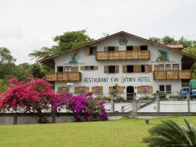 Swiss Style Hotel and Restaurant Near Nuevo Arenal, Costa Rica, Central America