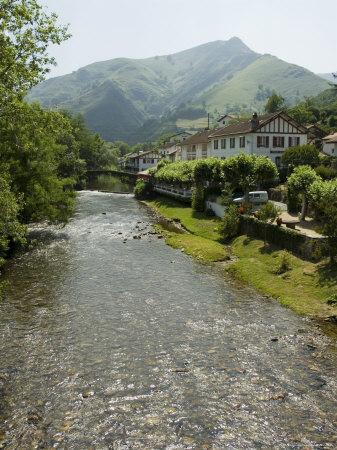 Hotel Arce on the River Nive, Basque Country, Aquitaine, France