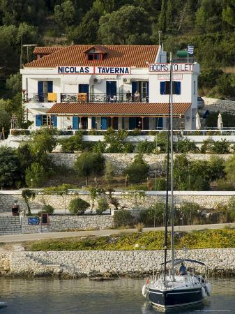 Nicolas Taverna, Fiskardo, Kefalonia (Cephalonia), Ionian Islands, Greece
