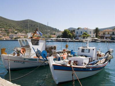 Vathy (Vathi), Ithaka, Ionian Islands, Greece