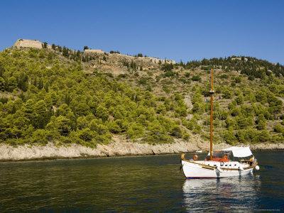 Assos Castle, Assos, Kefalonia (Cephalonia), Ionian Islands, Greece