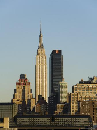 Empire State Building, Mid Town Manhattan, New York City, New York, USA