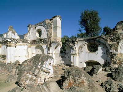 Ruins of the Church of La Recoleccion, Destroyed by Earthquake in 1715, Antigua, Guatemala