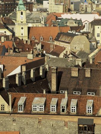 Old City Wall and City, Bratislava, Slovakia
