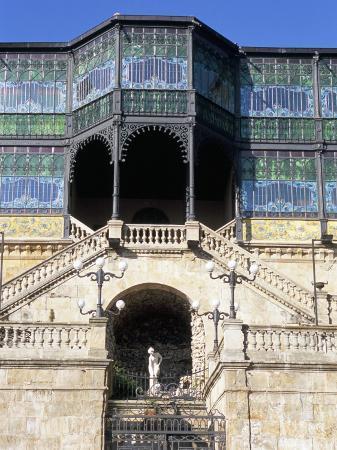 Casa Lis (Casa Lys) (Lis House), Municipal House of Culture, an Art Deco Museum, Salamanca, Spain