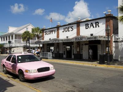Sloppy Joe's Bar, Famous Because Ernest Hemingway Drank There, Duval Street, Florida