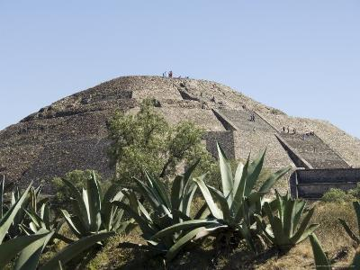 Pyramid of the Moon, Teotihuacan, 150Ad to 600Ad and Later Used by the Aztecs, North of Mexico City