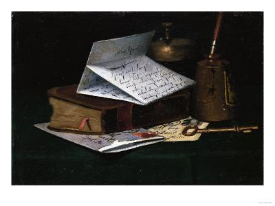 Tabletop Still Life, a Letter from New York