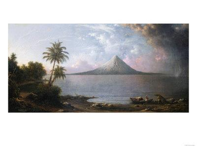 Omotepe Volcano, Nicaragua, 1867