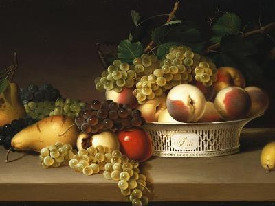 Fruit in a Chinese Basket, 1822