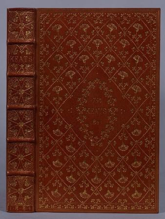 A Brown Morocco Gilt Binding by T.J. Cobden-Sanderson of 'The Poetical Works of John Keats', 1889
