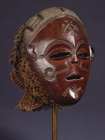 A Fine Chokwe Mask