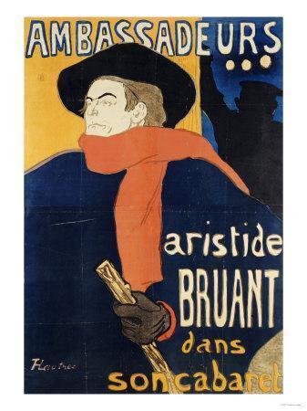 Ambassadeurs; Aristide Bruant, 1892