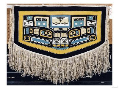 A Tlingit Ceremonial Dance Blanket