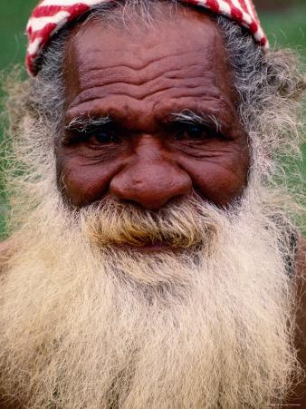 Kanak Elder, Noumea, South Province, New Caledonia