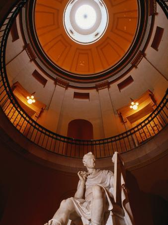 Interior Rotunda of State Capitol Building, Raleigh, North Carolina