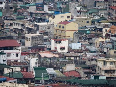 Housing in the Divisoria Distict, Manila, National Capital Region, Philippines