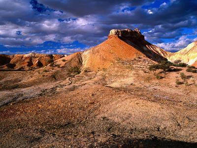 Eroded Landscape, Painted Desert, Coober Pedy, South Australia