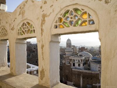 Old Town through Window, San'a, Yemen