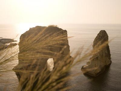 Pigeon Rocks, Beirut, Bayrut, Lebanon