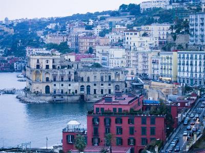 Buildings along Waterfront, Posilipo, Naples, Campania, Italy