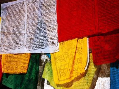 Prayer Flags, Jokhang Temple, Lhasa, Tibet, China