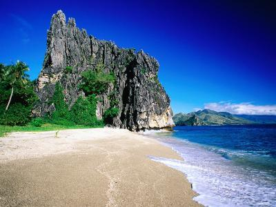 Rock Formation on Beach, New Caledonia, North Province, New Caledonia