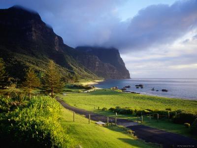 Coastal Landscape, Lord Howe Island, New South Wales, Australia