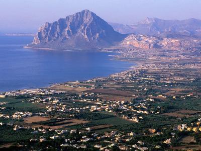North Coast and Monte Cofano, Erice, Sicily, Italy