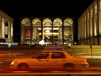 Lincoln Center at Night, Upper West Side, New York City, New York