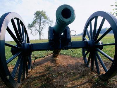 Canon at Wilson's Creek National Battlefield, the Ozarks, Near Republic, Republic, Missouri