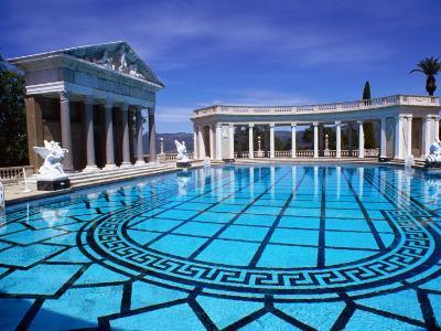 Hearst Castle Outdoor Pool, San Simeon, California