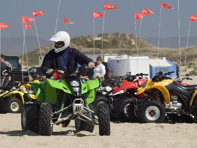 ATV Riders in Dunes