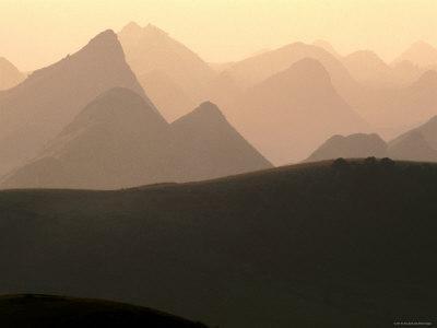 Dramatic Hoang Lien Mountains of Northwestern Vietnam, Tam Duong, Lao Cai, Vietnam