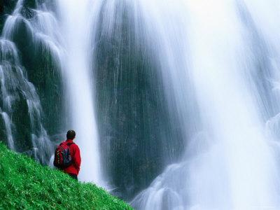 Giessbach Falls, Near Interlaken, Brienz, Bern, Switzerland