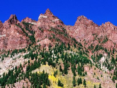 Red Mountains Near Maroon Bells, Aspen, Colorado