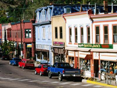 Street Scene, Manitou Springs, Colorado