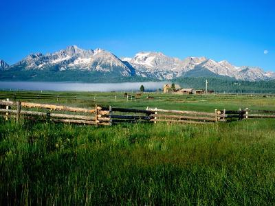 Arrow a Ranch and Sawtooth Mountains, Stanley, Idaho