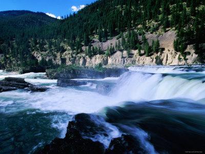 Kootenai Falls, Near Libby, Montana