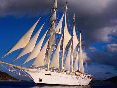 Star Clipper Under Full Sail