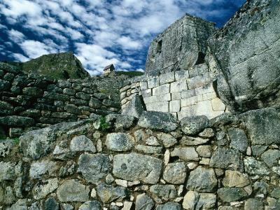 Ruins at Ancient Inca City, Machu Picchu, Cuzco, Peru