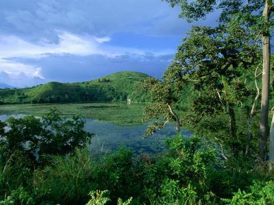 Kifurka Crater Lake Near Fort Portal and Kibale Forest, Fort Portal, Kabarole, Uganda