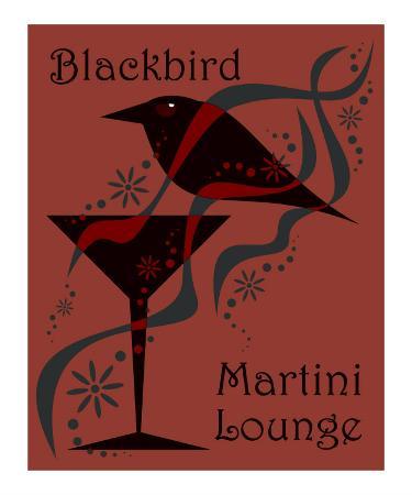 Blackbird Martini Lounge Red